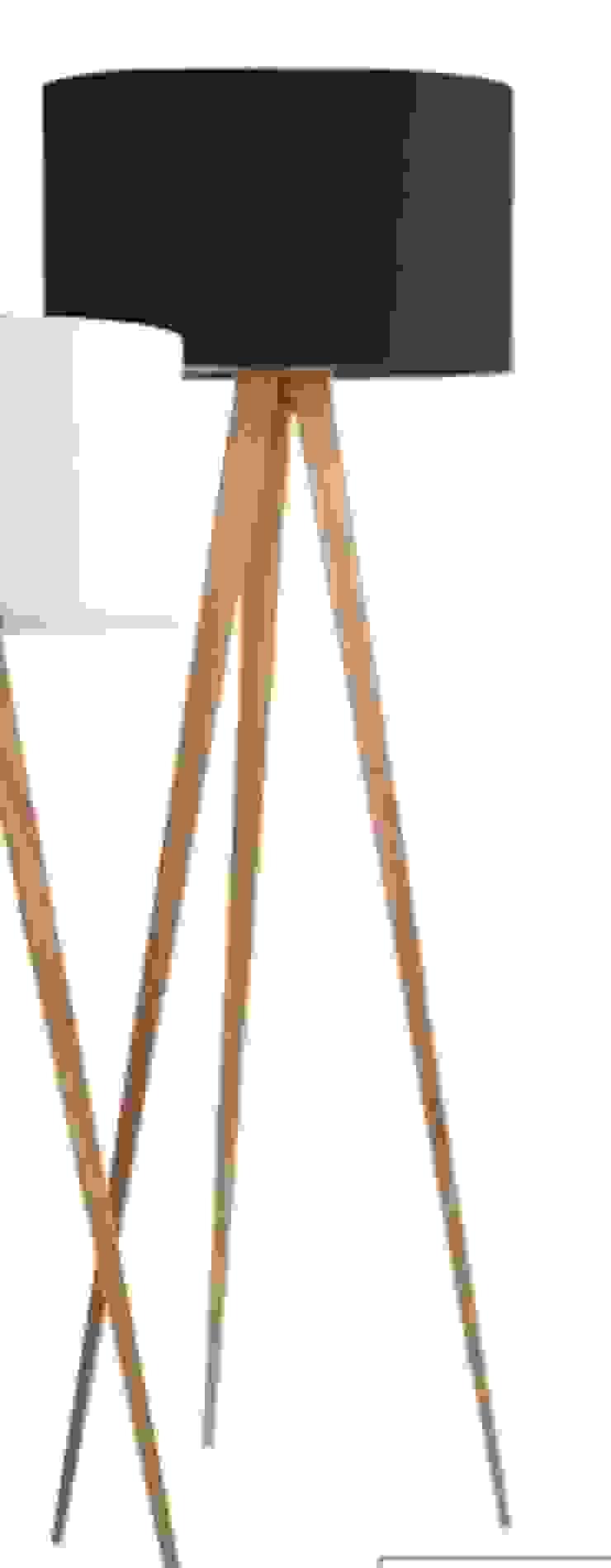Lampara de madera de pie de Casada Health & Beauty Moderno