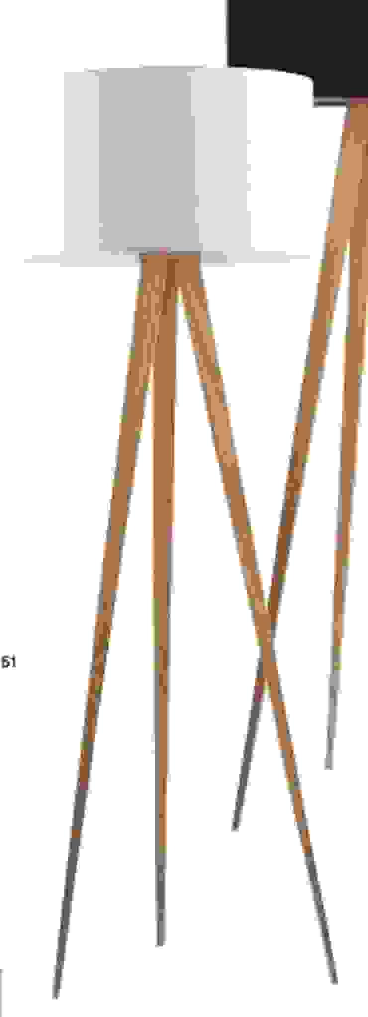 Lámpara de madera de pie de Casada Health & Beauty Moderno