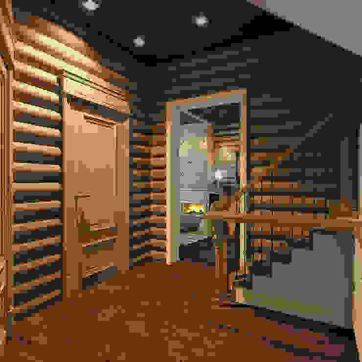 Гостевой домик г.Реж Кухня в стиле кантри от Частный дизайнер и декоратор Девятайкина Софья Кантри