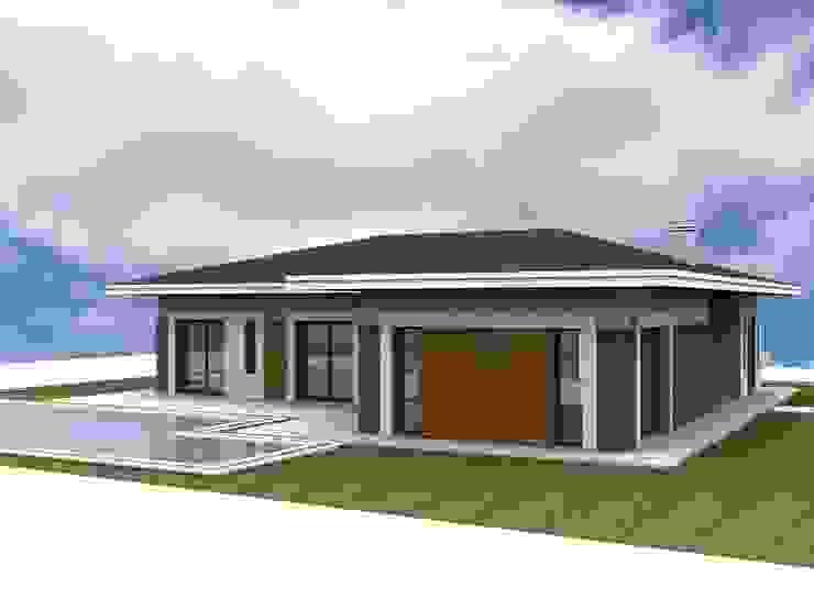 GLS villa 6 Modern Evler homify Modern