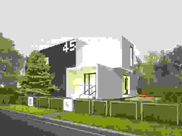 Minimalist house by Zalewski Architecture Group Minimalist