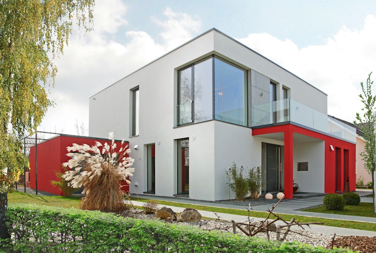 모던스타일 주택 by Rötzer Ziegel Element Haus GmbH 모던