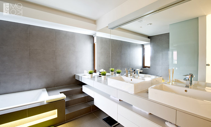 Pracownia projektowa artMOKO Salle de bain moderne