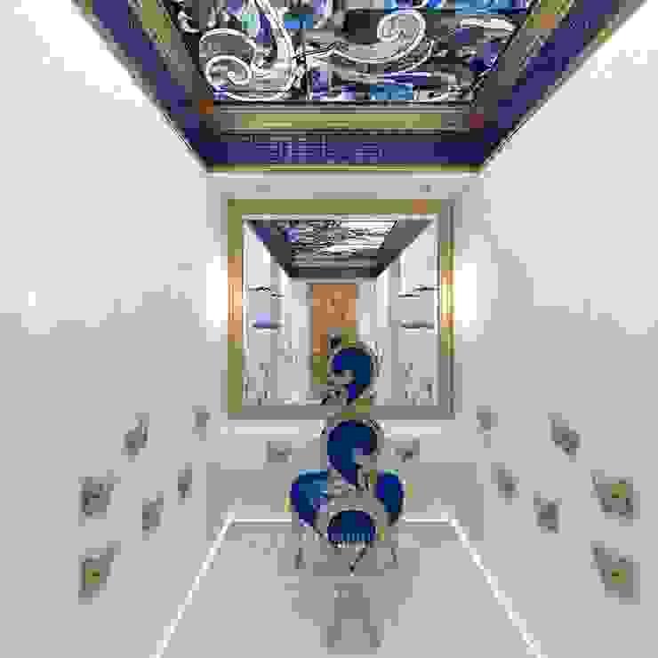 ДИЗАЙН ГАРДЕРОБНОЙ Гардеробная в стиле модерн от Студия дизайна интерьера Руслана и Марии Грин Модерн