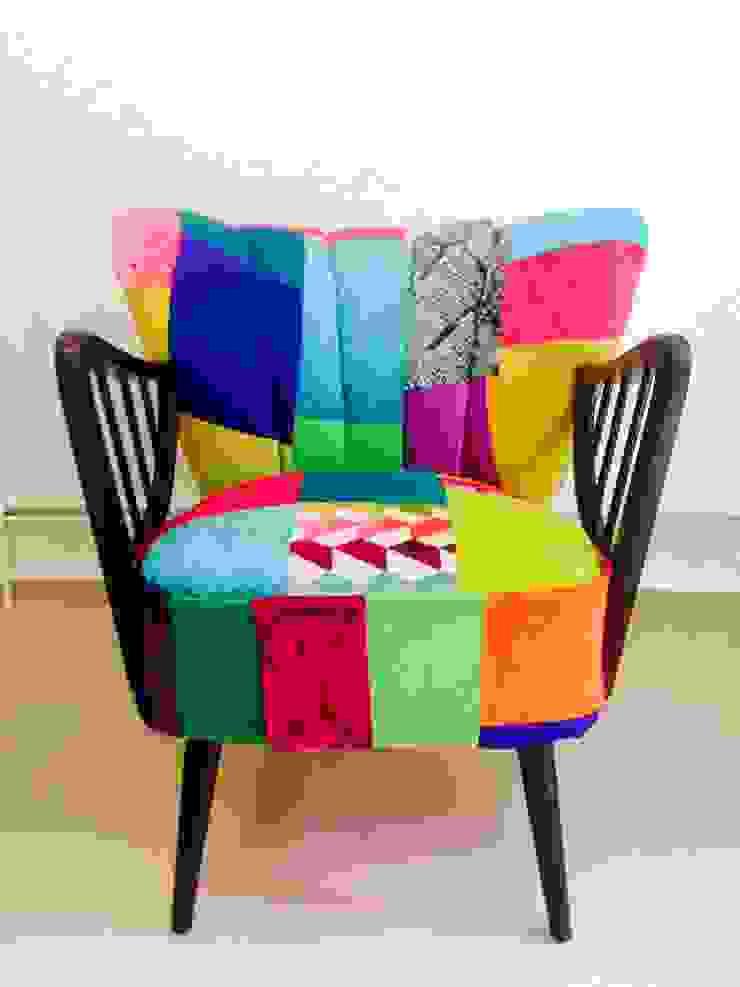 Fotel Klubowy Patchwork od Juicy Colors Eklektyczny