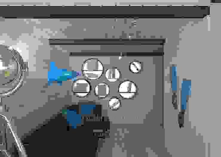Интерьер детской комнаты в морском стиле стиле Детские комната в эклектичном стиле от Студия дизайна интерьера Руслана и Марии Грин Эклектичный
