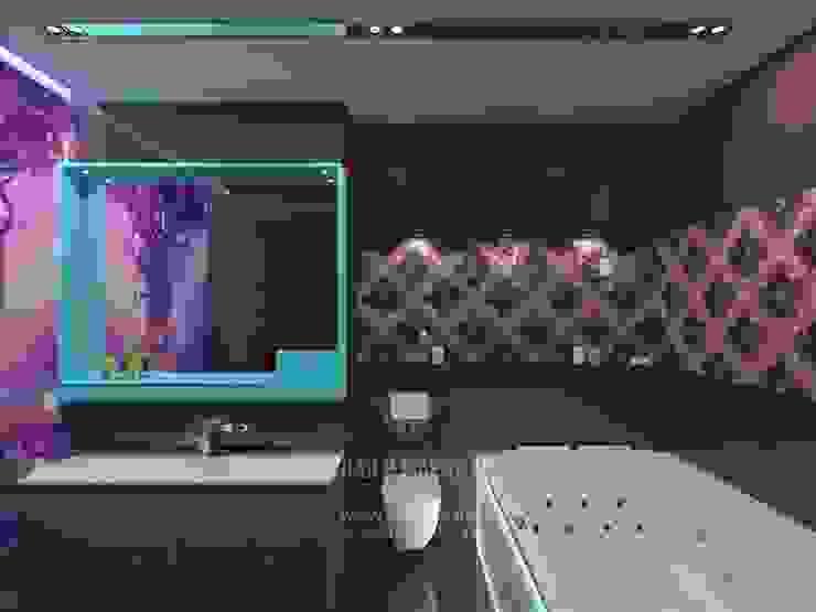 Banheiros  por Студия дизайна интерьера Руслана и Марии Грин
