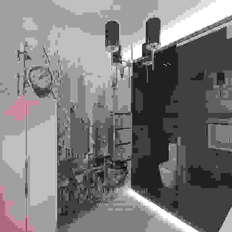 Дизайн санузла Ванная комната в эклектичном стиле от Студия дизайна интерьера Руслана и Марии Грин Эклектичный