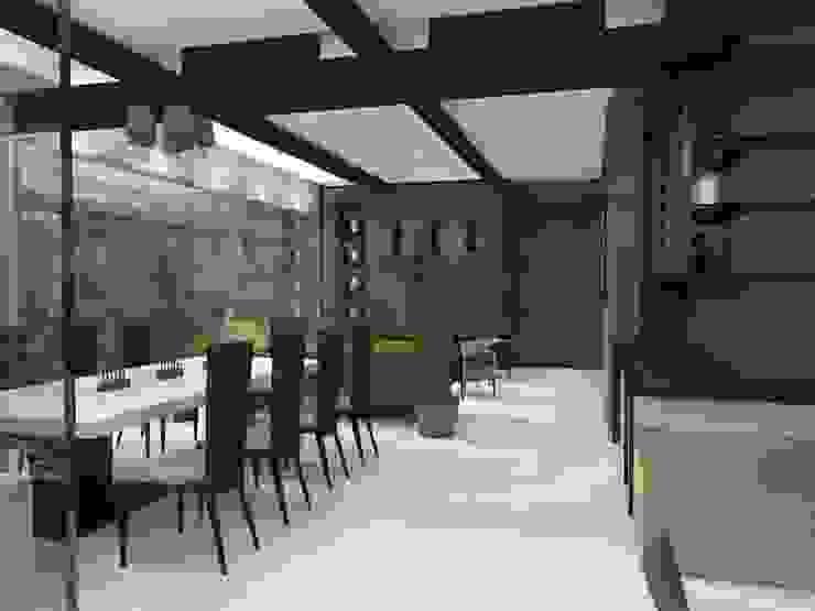 TB1504 Salones modernos de Arq. Jacobo Smeke Moderno