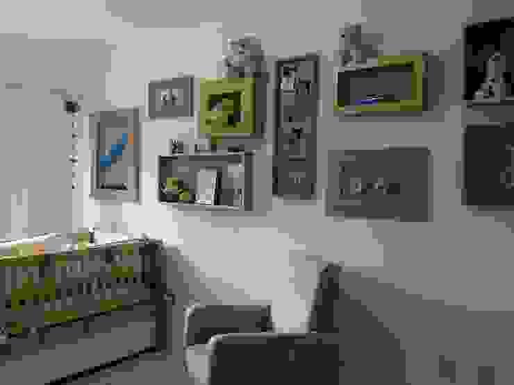 A&P.P - Quarto de Bebê Quarto infantil moderno por Kali Arquitetura Moderno