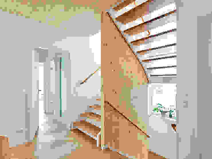Коридор, прихожая и лестница в модерн стиле от Müllers Büro Модерн