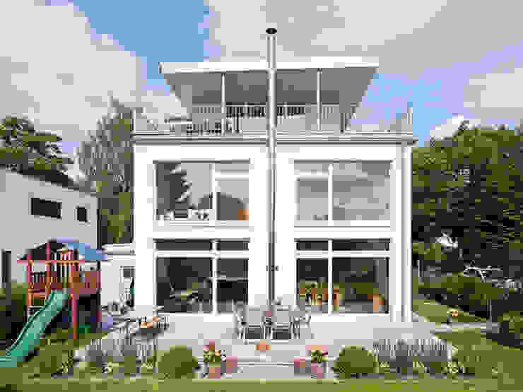 HAUS PANKOW:  Terrasse von Müllers Büro,Modern