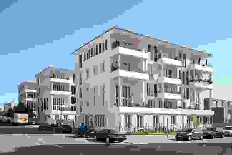 EIN PASSIVHAUS-BAUGRUPPENPROJEKT Klassische Häuser von Müllers Büro Klassisch