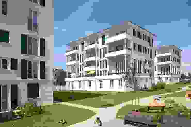 EIN PASSIVHAUS-BAUGRUPPENPROJEKT Müllers Büro Klassische Häuser
