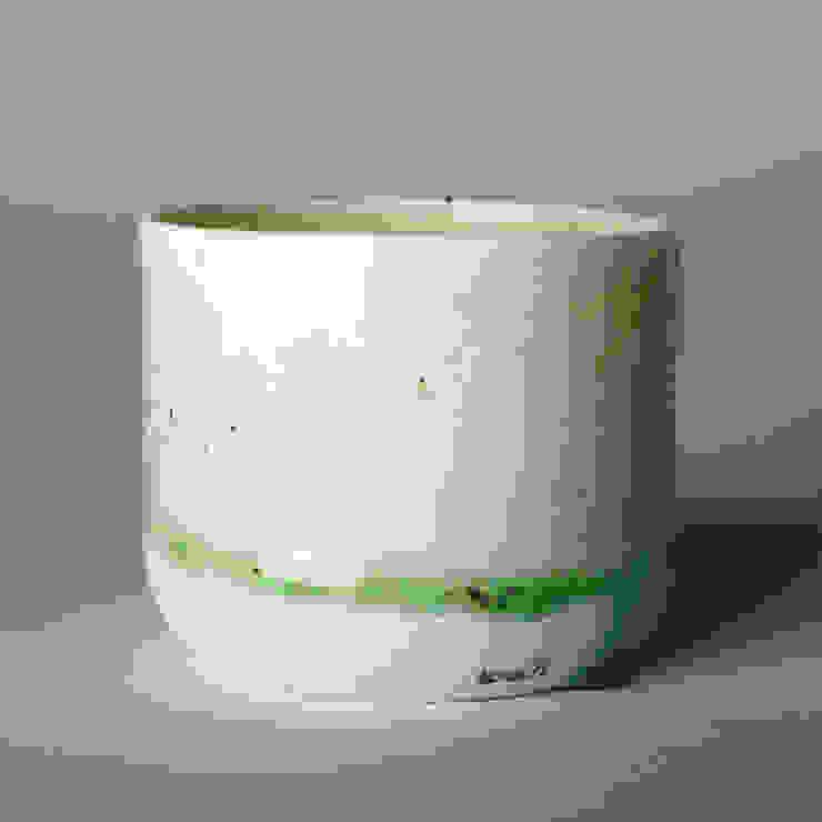 Enkel Glas #3 naturel: modern  door Studio Ineke van der Werff, Modern