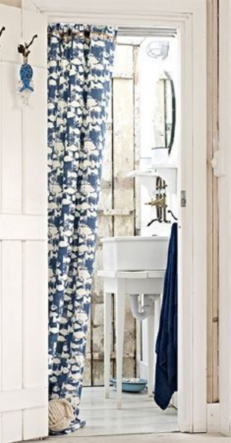 Prestigious Textiles - Pickle Fabric Collection Curtains Made Simple Country style bathrooms