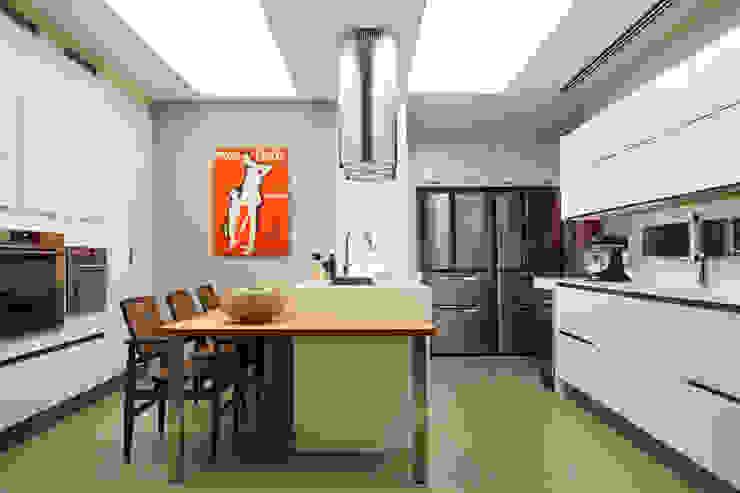 Apartamento WSS Cozinhas modernas por Yamagata Arquitetura Moderno