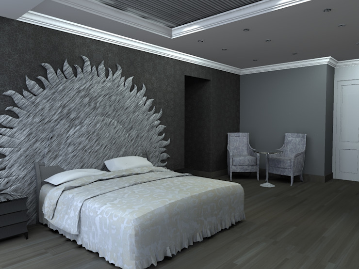 Modern style bedroom by Arq. Jacobo Smeke Modern