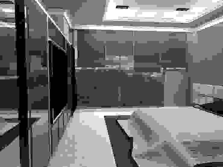 P14T2404 Dormitorios modernos de Arq. Jacobo Smeke Moderno