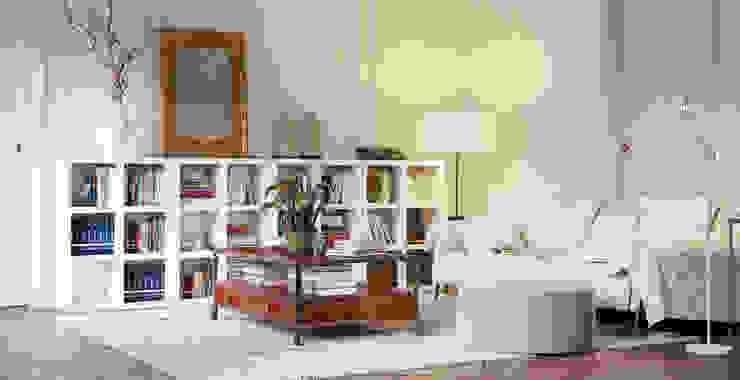 Book Shelving Unit: classic  by Piwko-Bespoke Fitted Furniture, Classic
