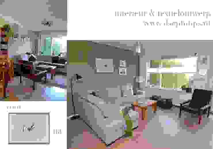 Eet-/Woonkamer 1 Moderne woonkamers van ilsephilips Modern