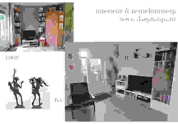 Eet-/Woonkamer 2 Moderne woonkamers van ilsephilips Modern