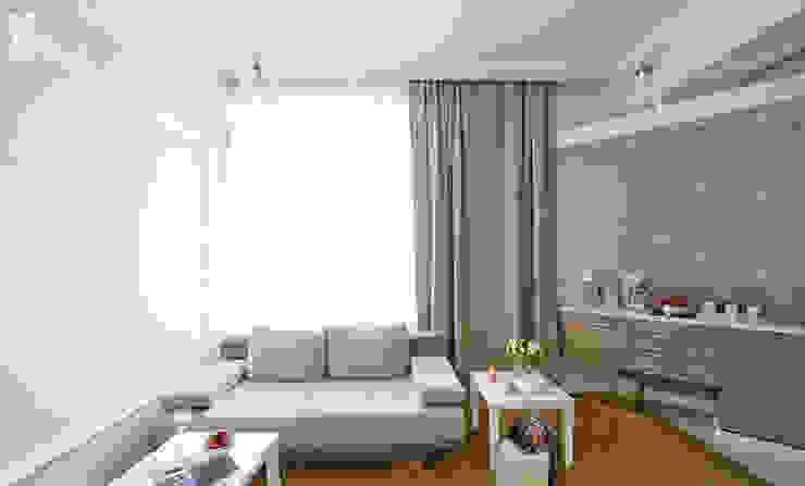 Pracownia projektowa artMOKO Eclectic style living room