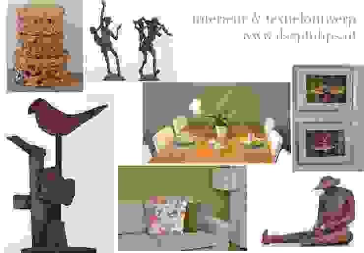 Eet-/Woonkamer 6 Moderne woonkamers van ilsephilips Modern