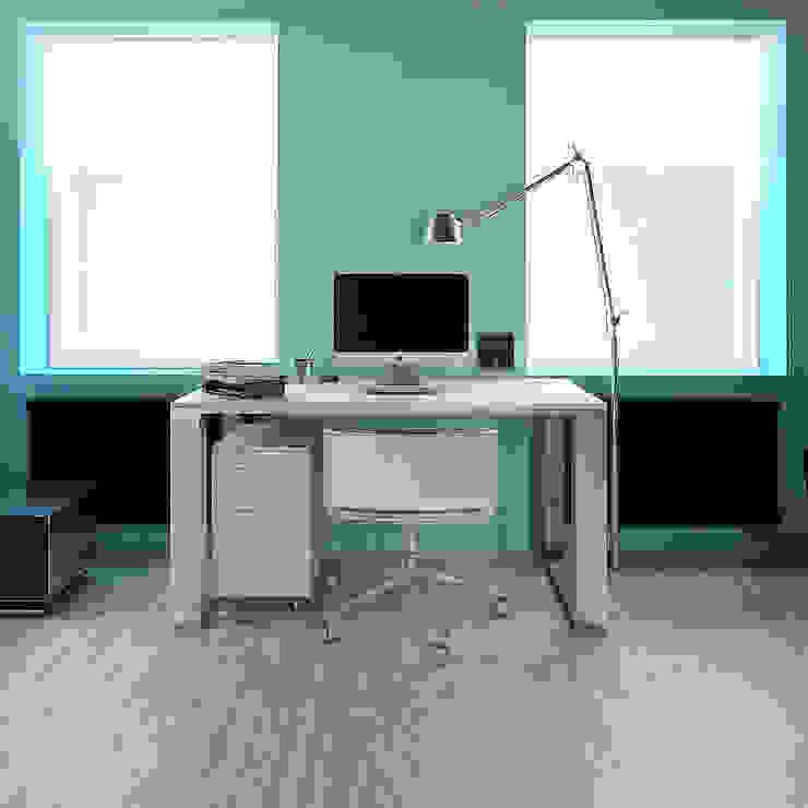 MinimaL-Loft Рабочий кабинет в стиле лофт от Dmitriy Khanin Лофт