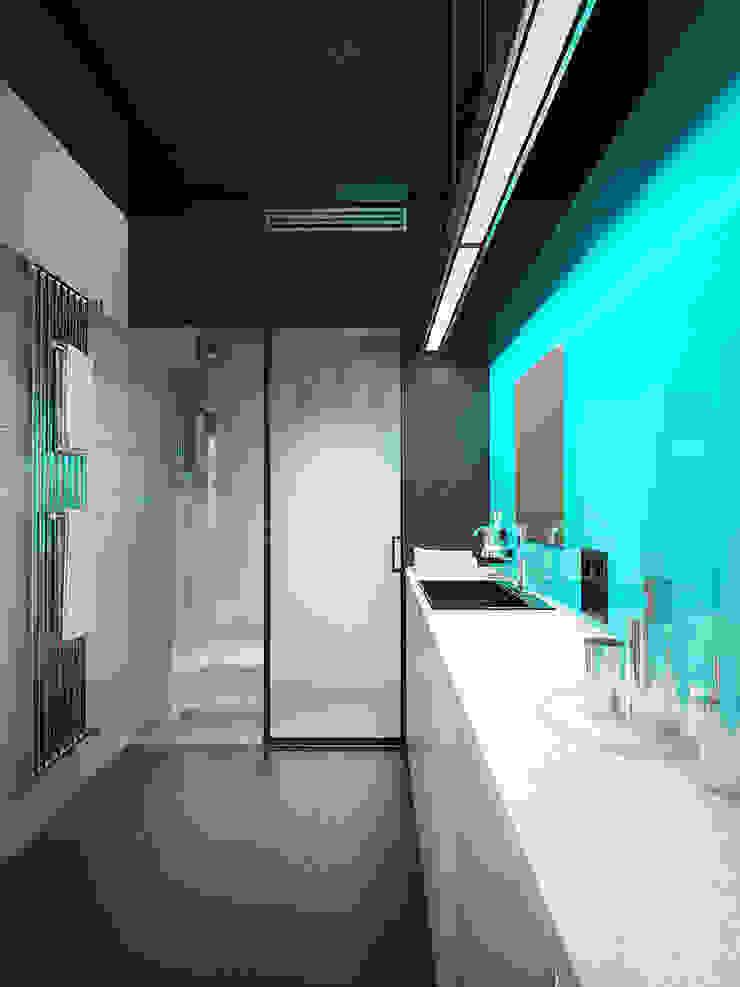 MinimaL-Loft Ванная в стиле лофт от Dmitriy Khanin Лофт