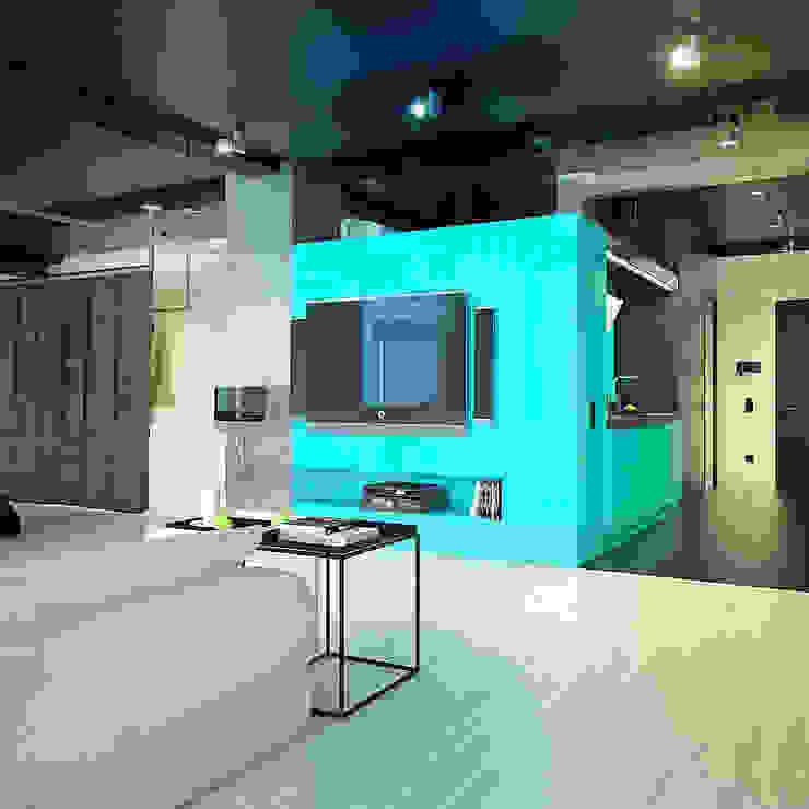MinimaL-Loft Гостиная в стиле лофт от Dmitriy Khanin Лофт