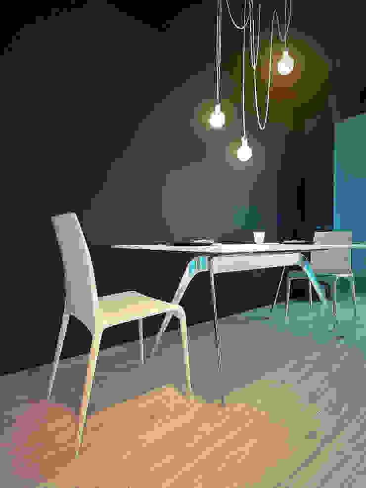 MinimaL-Loft Столовая комната в стиле лофт от Dmitriy Khanin Лофт