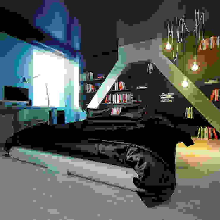 MinimaL-Loft Спальня в стиле лофт от Dmitriy Khanin Лофт