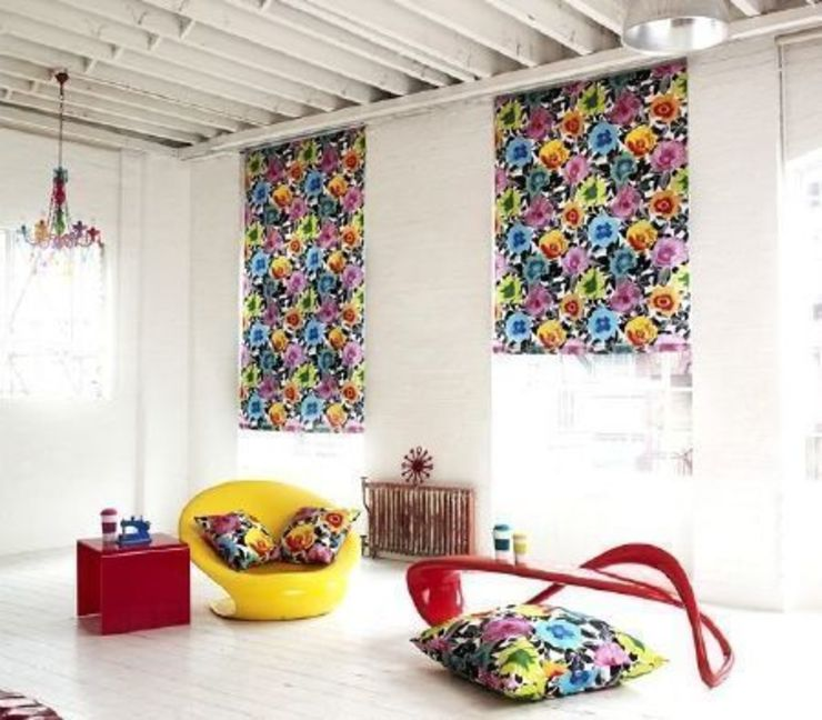 Prestigious Textiles - Diva Fabric Collection Modern living room by Curtains Made Simple Modern