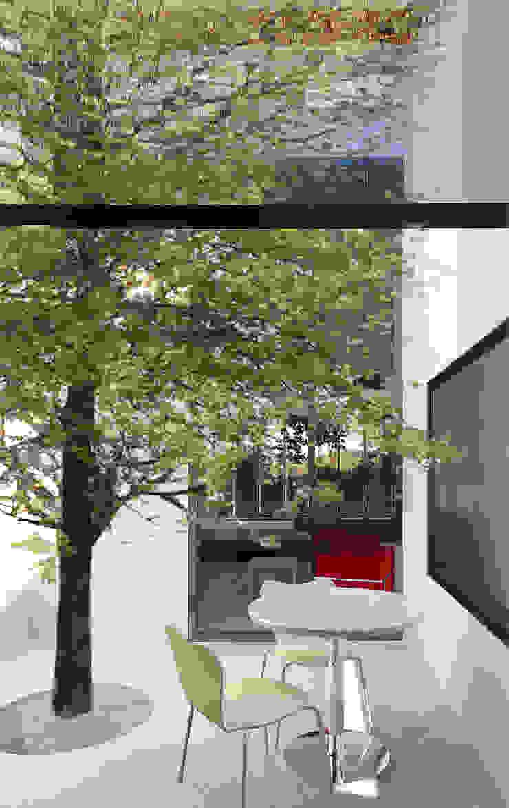 Scandinavian style conservatory by ACA.Alfonso Cort Arquitecto Scandinavian