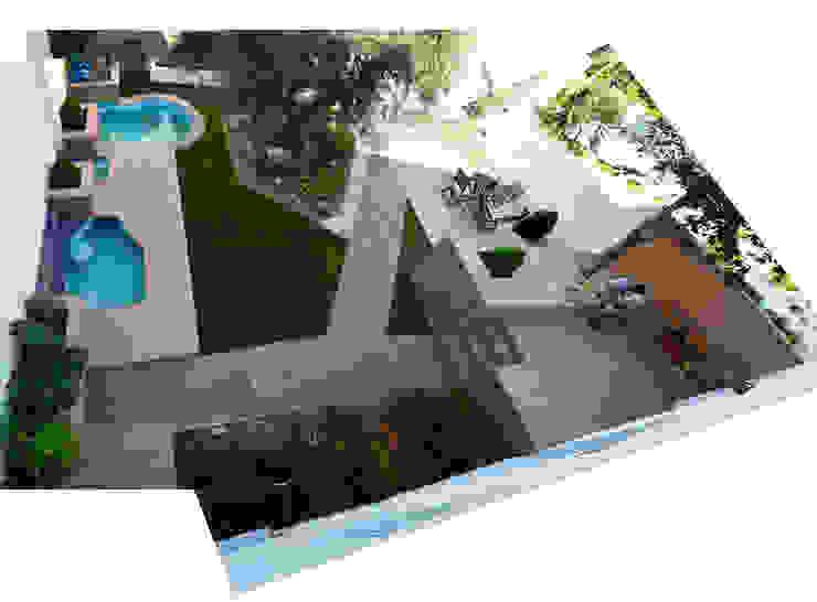 Expremiendo cada rincon Jardines de estilo moderno de ACA.Alfonso Cort Arquitecto Moderno