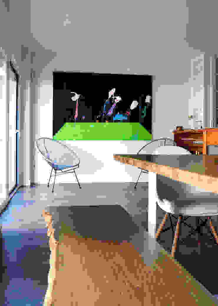 Expremiendo cada rincon Salones de estilo moderno de ACA.Alfonso Cort Arquitecto Moderno