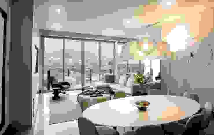Interiorismo Depts. Edificio SAQQARA de BAO Moderno