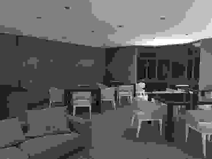 LB1515 Salas multimedia modernas de Arq. Jacobo Smeke Moderno