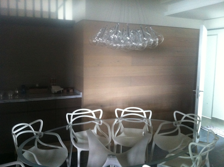 Modern Dining Room by Arq. Jacobo Smeke Modern