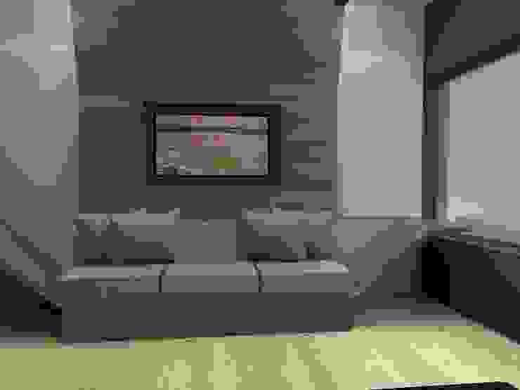 Modern style bedroom by Arq. Jacobo Smeke Modern