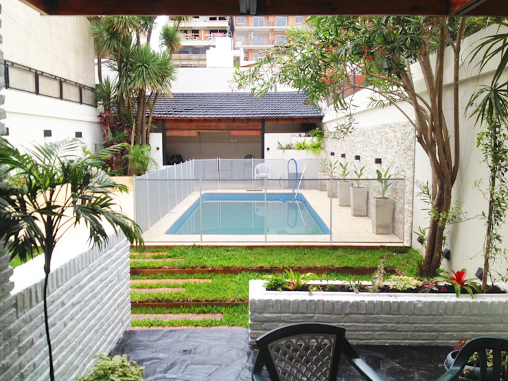 Сады в . Автор – Estudio Nicolas Pierry: Diseño en Arquitectura de Paisajes & Jardines