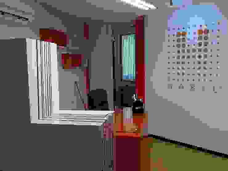 IMAGEN FINAL DEL PROYECTO Edificios de oficinas de estilo minimalista de AMÉTRICO ESTUDIO Minimalista