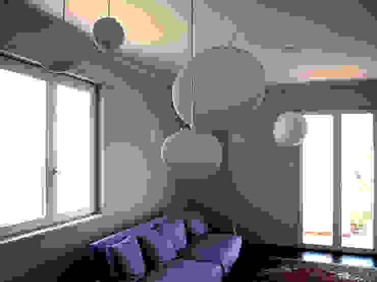 Casa A/S 013 Soggiorno moderno di Studio Proarch Moderno