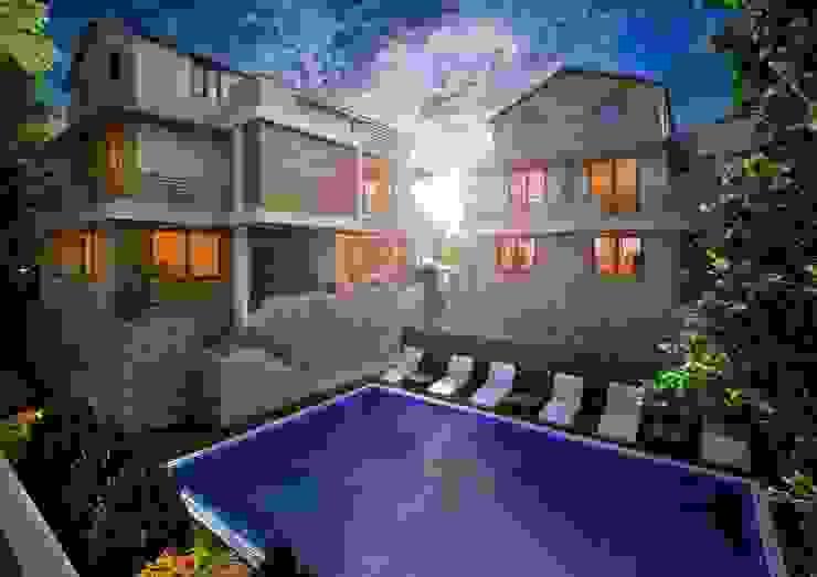 Bursa Mysia Villaları Cephe Tasarım Modern Evler Point Dizayn Modern