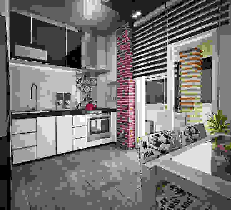 H.B. Mutfak Tasarımımız Modern Mutfak Point Dizayn Modern