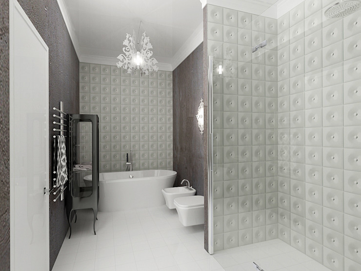 Eclectic style bathroom by ООО 'Студио-ТА' Eclectic
