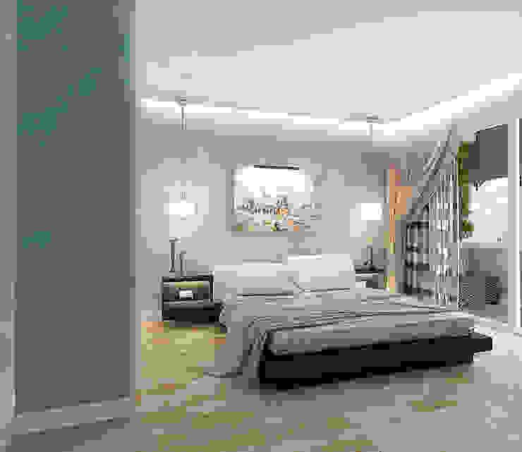 Квартира  на Проспекте Мира: Спальни в . Автор – ООО 'Студио-ТА',