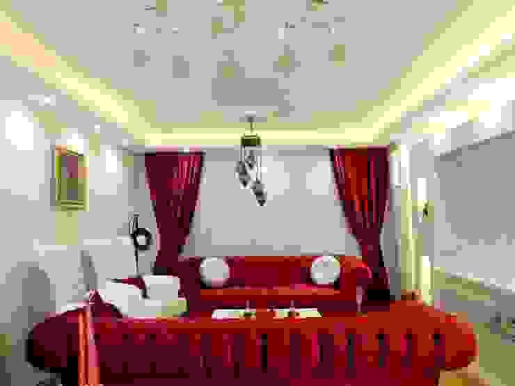 Uygulanmış Projeler Modern Oturma Odası Dİ-AR İÇ MİMARLIK Modern