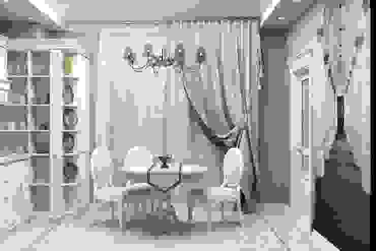 Дизайн-проект квартиры в классическом стиле Столовая комната в классическом стиле от Студия дизайна и декора Светланы Фрунзе Классический